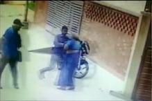 Watch: Elderly Couple Targeted By Chain Snatcher in Hyderabad