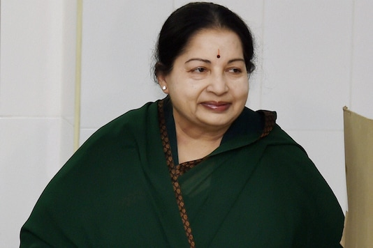 File Photo of Late Tamil Nadu Chief Minister J Jayalalithaa  (PTI)