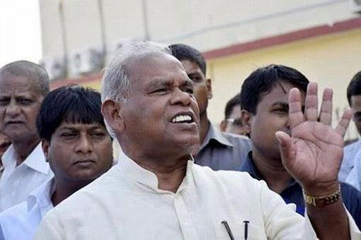 HAM leader Jitan Ram Manjhi.