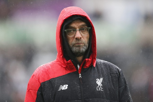 A file photo of Liverpool manager Jurgen Klopp. (Getty Images)