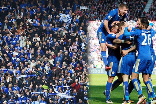 Leicester City were crowned champions of England for the first time in the club's 132-year history. (Getty Images)
