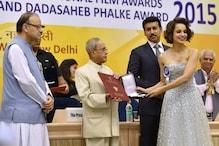 President Honours Amitabh, Kangana At 63rd National Awards