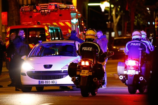 Police patrol on the Boulevard Voltaire following a series of deadly attacks in Paris, November 14, 2015. (File picture)