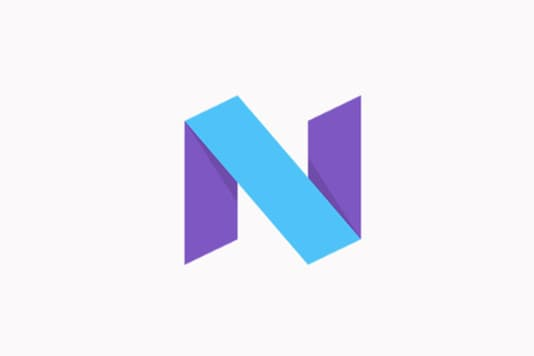 The current logo for the beta versions of Android N operating system