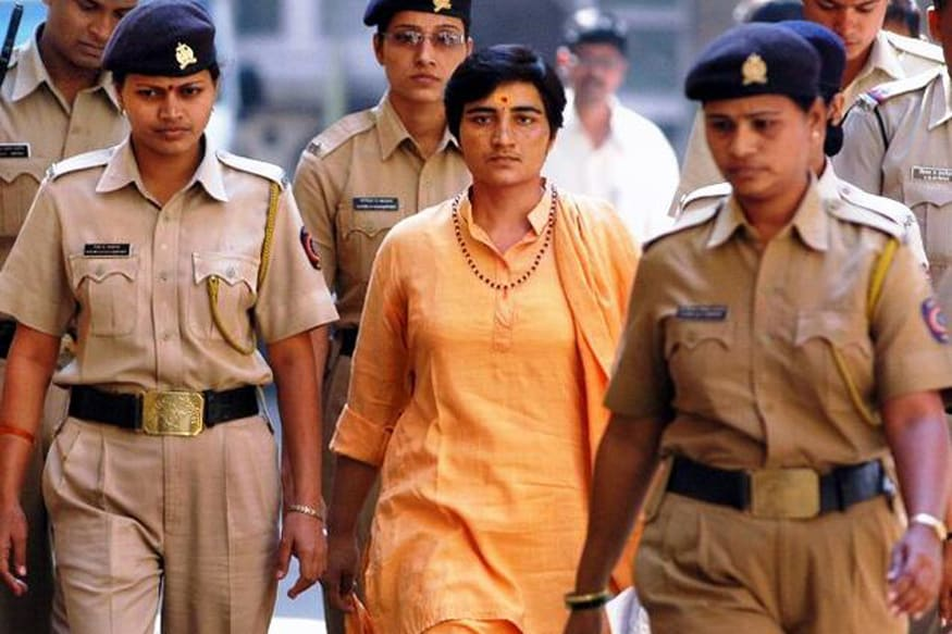 Pragya Thakur May Get Z-plus Cover Due to Security Threat Posed by Man Showing Black Flag