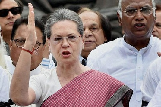 File photo of UPA chairperson Sonia Gandhi.