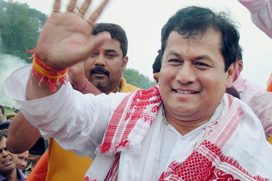 Assam Chief Minister Sarbananda Sonowal Shown Black Flags Again As Protests Against Citizenship Bill