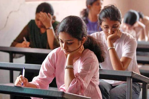 A file photo of students appearing for exams. (PTI)