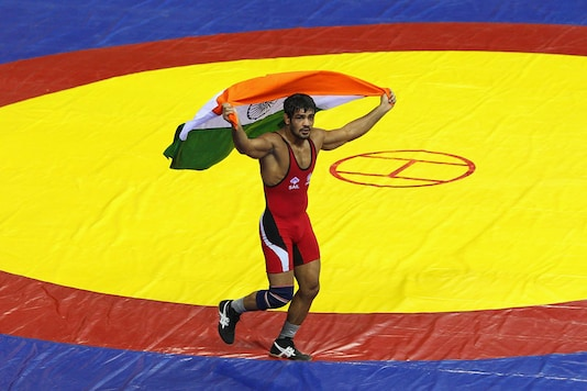 A file photo of Sushil Kumar. (Getty Images)