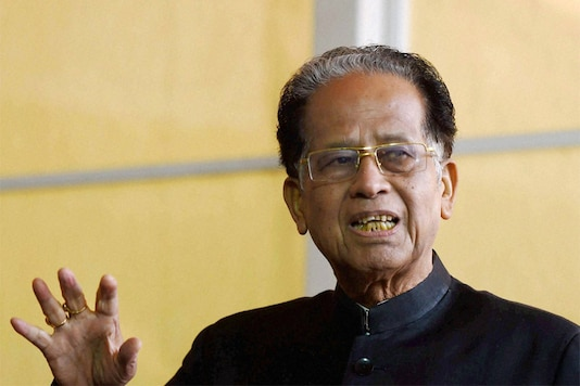 File photo of former Assam chief minister and senior Congress leader Tarun Gogoi. (PTI)