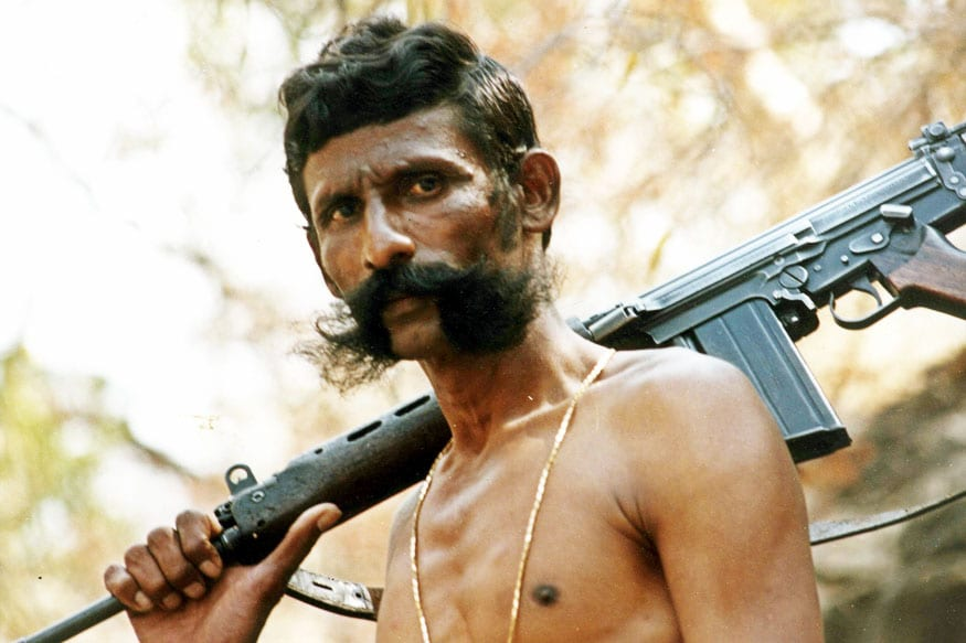Veerappan's wife says he was not a monster; no takers for his film.