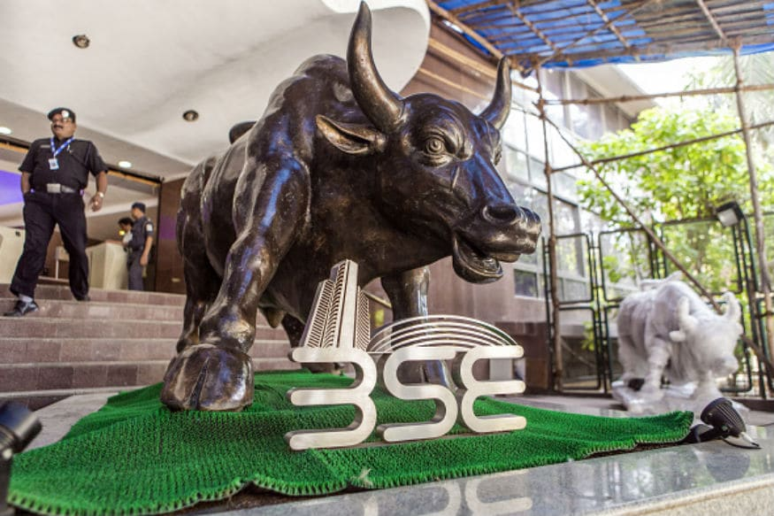 Sensex Rebounds After Early Low, Gains 228 Points; Nifty Ends Above 10,800