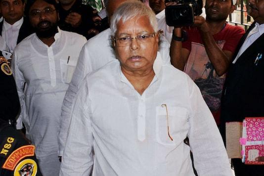 File photo of RJD chief Lalu Prasad Yadav.
