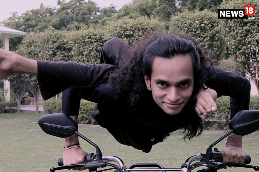 Polio Didn't Deter Tejasvi Sharma's Passion For Yoga