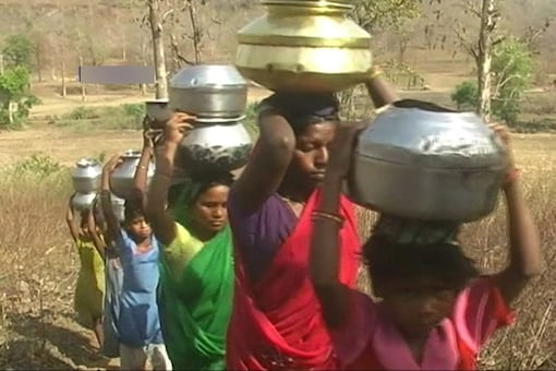 Madhya Pradesh is facing a drought like situation for a second year in a row.