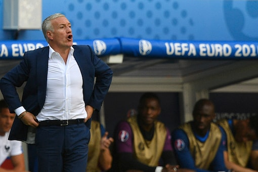 A file photo of France football coach Didier Deschamps. (Getty Images)