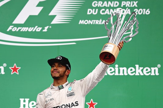 Lewis Hamilton secured his second straight victory of the season last week. (Getty Images)