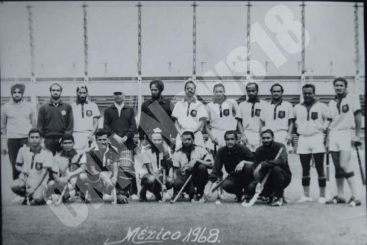 The Indian hockey team at the 1968 Olympics (Image: CNN News I8)