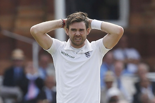File photo of James Anderson.  (Getty Images)