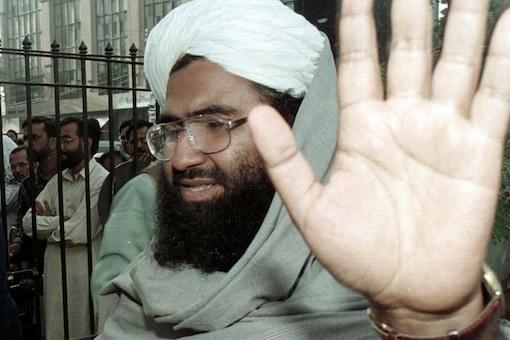 File photo of Jaish-e-Mohammad chief Maulana Masood Azhar. (Image: Reuters)