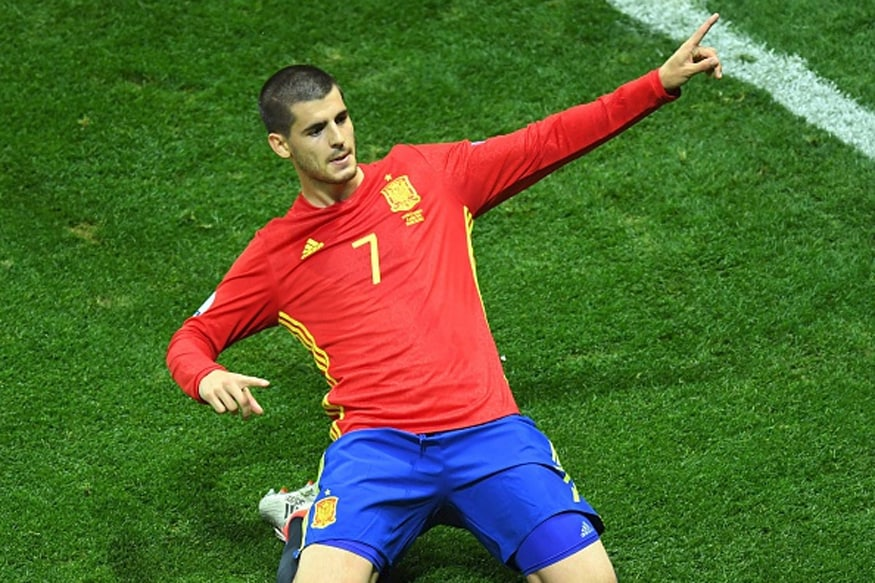 File image of Alvaro Morata. (Getty Images)