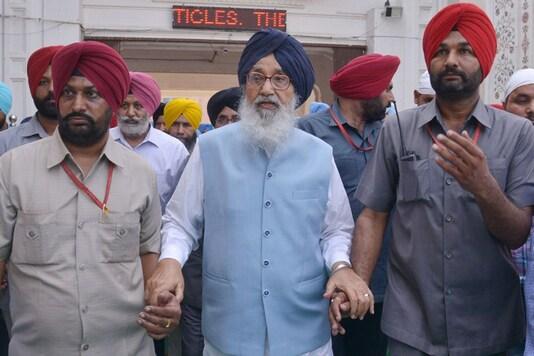 File photo of Punjab CM Parkash Singh Badal (AFP)