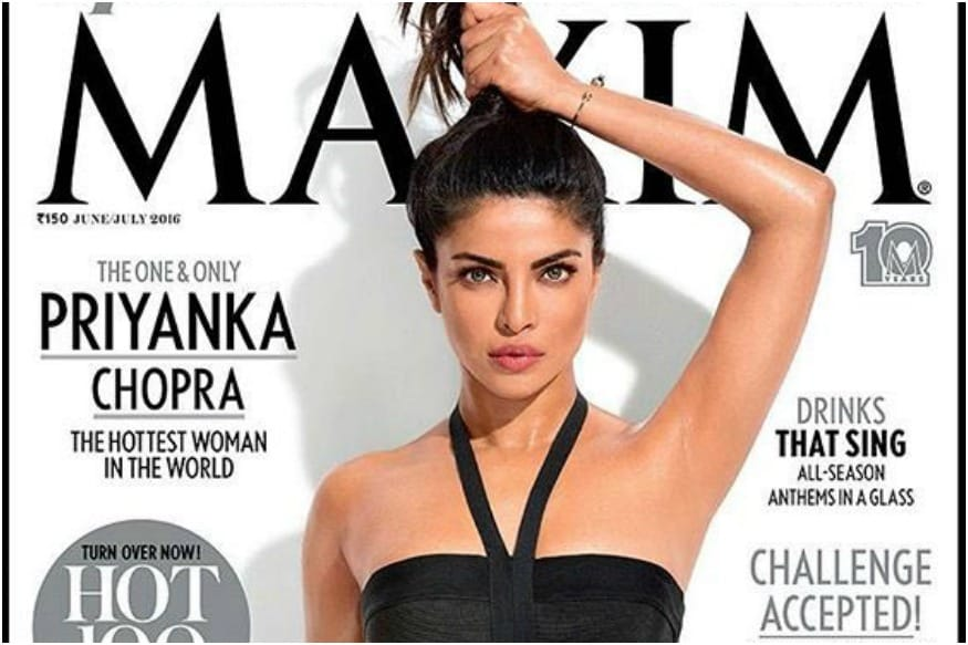 Priyanka Chopra Stirs Controversy Over Her Flawless Armpit On A Magazine Cover