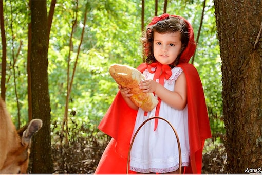 This Photographer Didn't like How the Story of Red Riding Hood Ended, so She Gave It an Adorable Twist