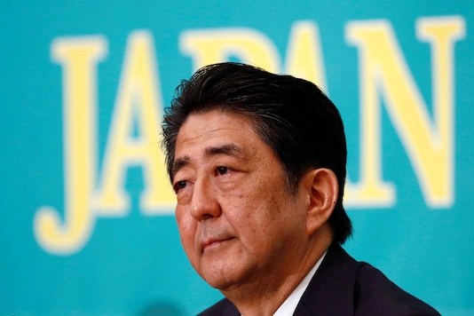 File photo of Japan's Prime Minister Shinzo Abe. (Reuters)