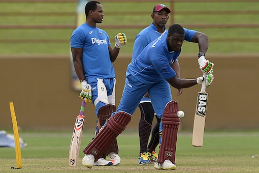 File image of players of the West Indies cricket team during a practice session. (Getty Images)