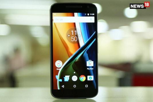 Motorola's Moto G4 smartphone. (Image: News18.com)