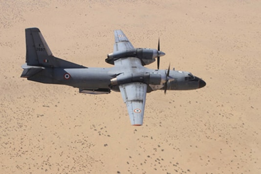 File photo of an AN 32 (Picture courtesy: indian air force website)