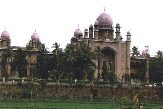 File photo of Hyderabad High Court.