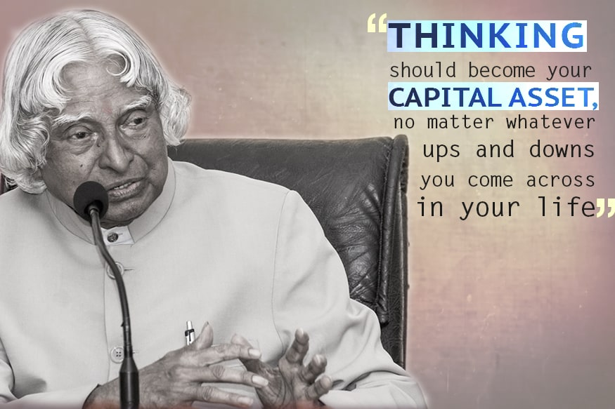 Apj Abdul Kalam Quotes That Will Inspire You For Life News18