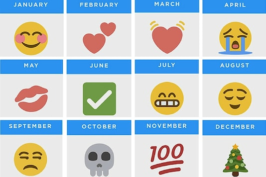 Twitter reveals most-used emojis in a given calendar month. Image: Twitter