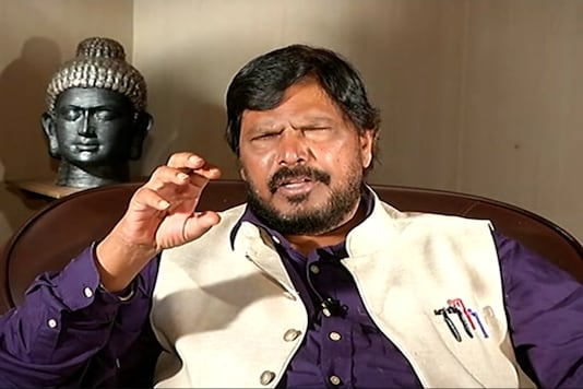 File photo of Union Minister Ramdas Athawale.