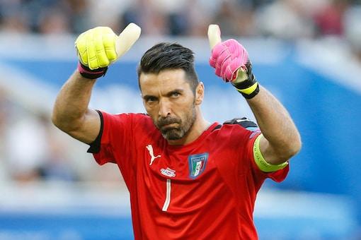 Italy captain and goalkeeper Gianluigi Buffon. (AP)