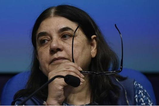 File photo of former Women and Child Development Minister Maneka Gandhi. (Twitter)