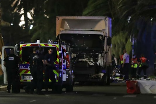 Truck attack kills at least 80 in Nice.