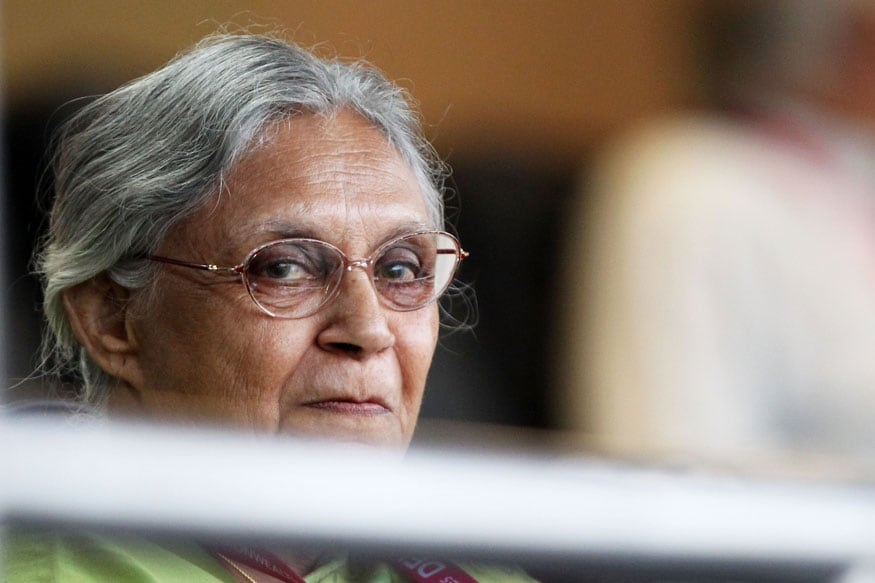 Sheila Dikshit Settles Dispute With BJP Leader Over Govt Fund