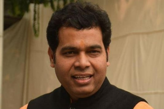 File photo of Uttar Pradesh minister Shrikant Sharma.