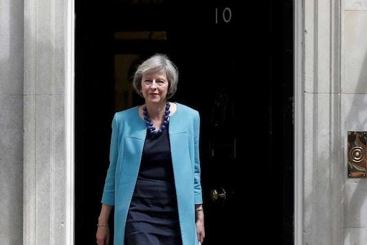 File photo of Theresa May (Reuters)