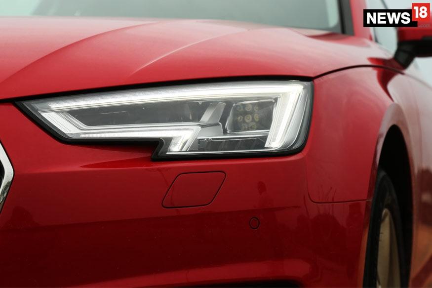Audi-A4-Matrix-Headlamps
