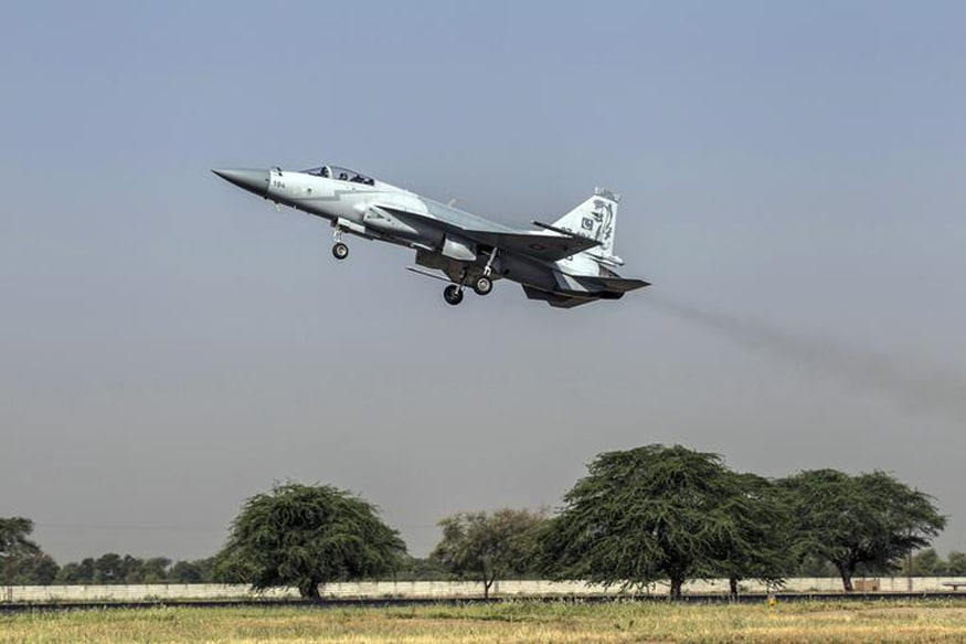 Pakistan Successfully Test-fires 'Smart Weapon' From JF-17 Fighter Jet