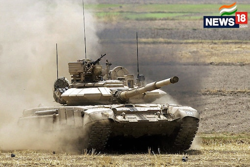 A T-90 Tank of the Indian Army in action. (Image: Getty Images)