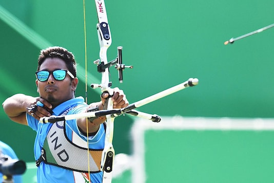 A file photo of Indian archer Atanu Das. (Photo Credit: Getty Images)