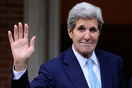 File photo of former US Secretary of State John Kerry.