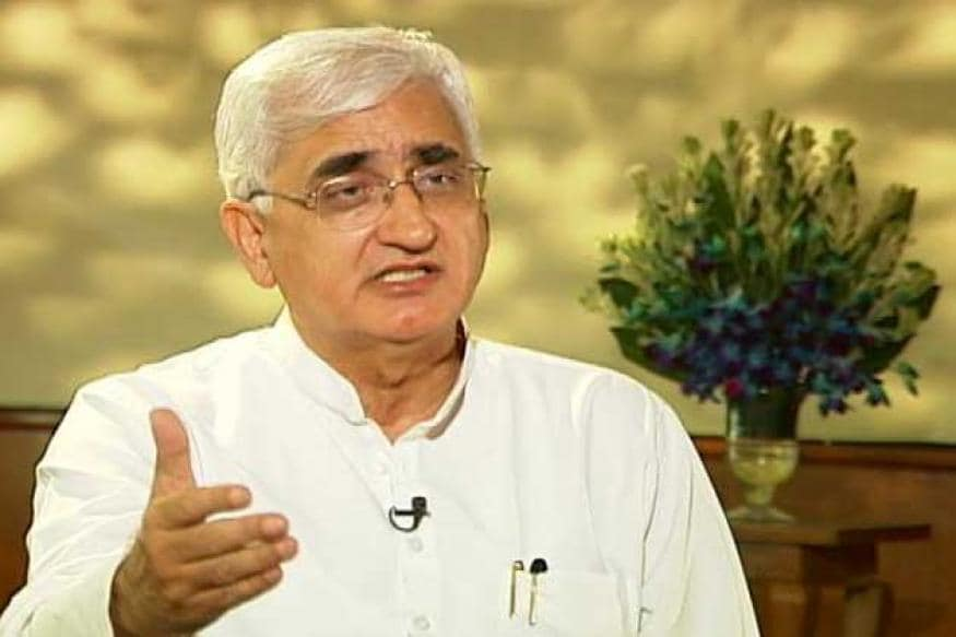 Congress Hand Stained With Blood of Muslims, Says Salman Khurshid