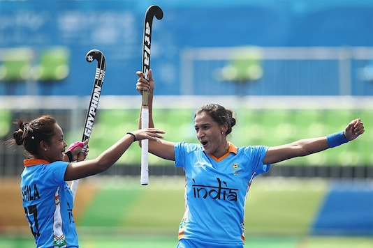 File image of Indian women's Hockey team captain Rani (R). (Getty Images)