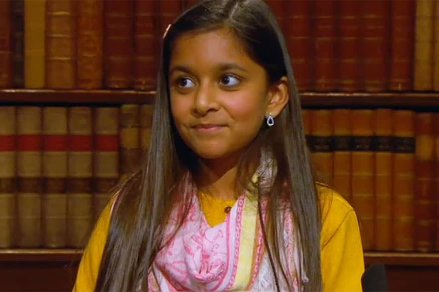 10-Year-Old Indian-Origin Girl Named Child Genius 2016 -4888